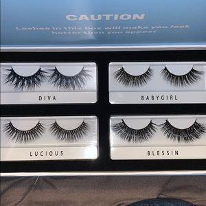On-fleek lashes 4 pairs